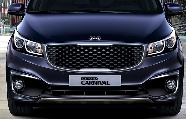 Kia Grand Carnival - Luces de posicionamiento LED
